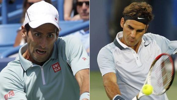 Djokovic y Federer quedaron fuera de carrera. (AP/Reuters)
