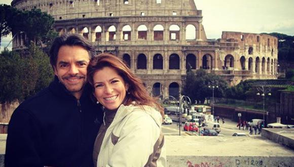 Alessandra Rosaldo habla sobre rumores de separación de Eugenio Derbez. (Foto: @alexrosaldo)