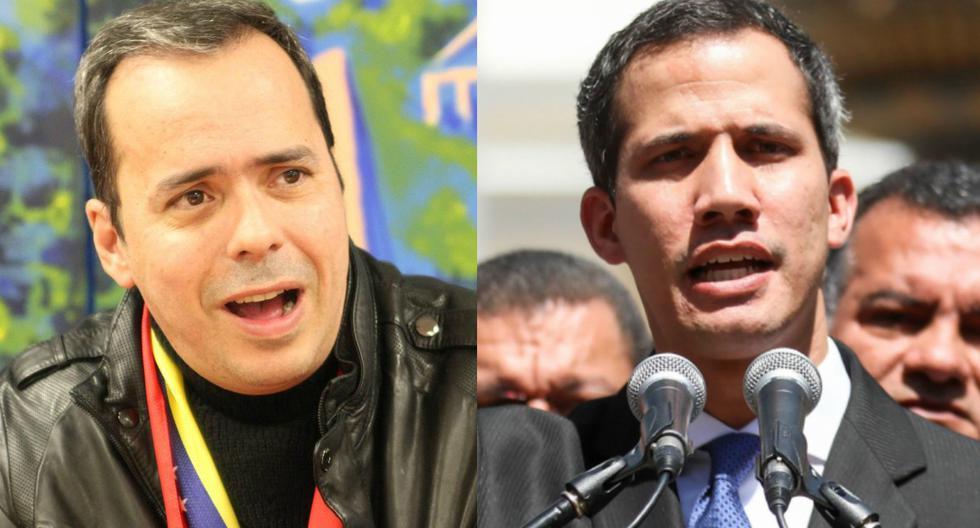 Imagen de archivo muestra al asesor político Juan José Rendón (izquierda) y a Juan Guaidó (derecha). (EFE/Yasmín Rincón/Cristian Hernández).