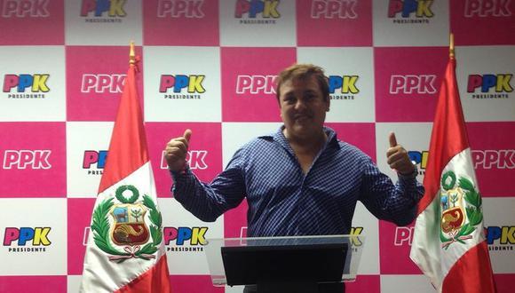 Richard Swing apoyó la campaña presidencial de PPK y de Martín Vizcarra como integrante de su plancha. (Foto: Richard Swing / Facebook)