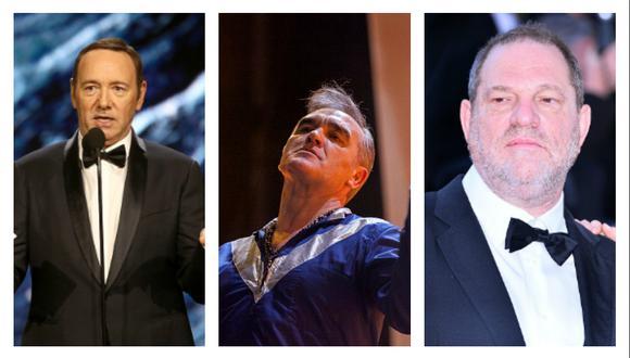 Kevin Spacey y Harvey Weinstein coincidieron en varias producciones de Hollywood. (Getty Images)