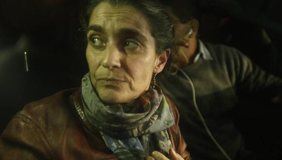 Maritza Garrido Lecca salió luego de 25 años en prisión. (Geraldo Caso)