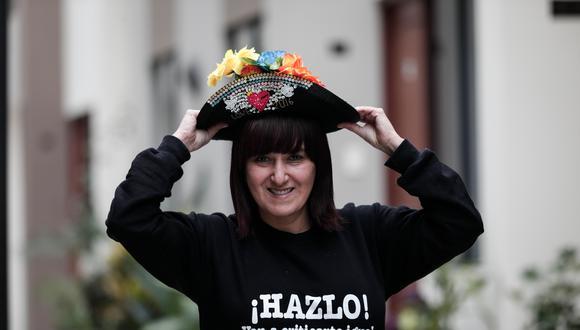 Sonaly Tuesta es la creadora, conductora y directora de Costumbres, programa de TV que cumple 20 años. (Foto: Ángela Ponce).