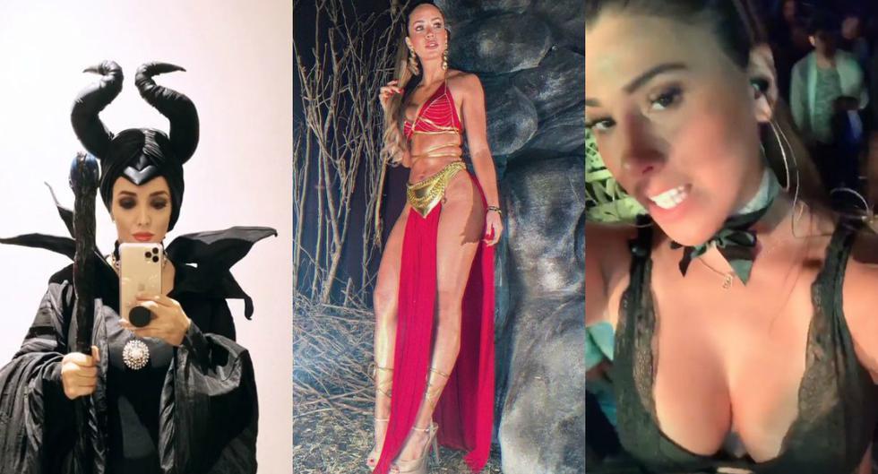 Figuras de la farándula local disfrutaron en grande la 'Noche de Brujas'. (Instagram)