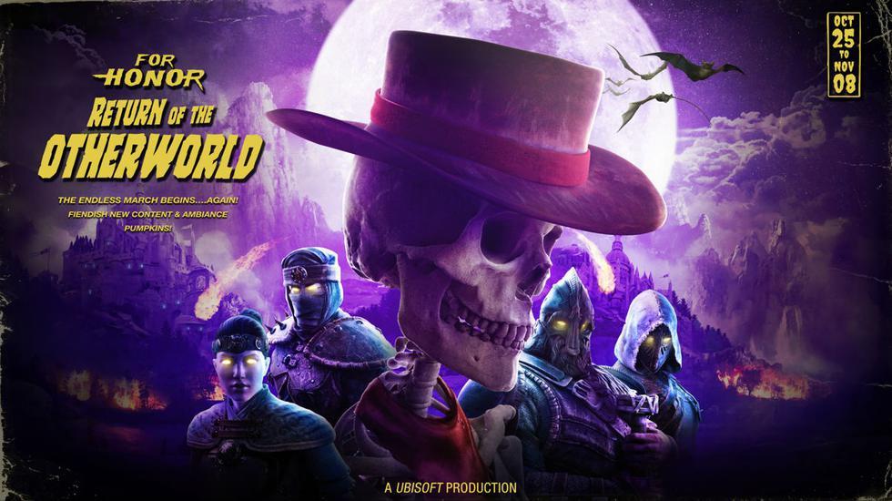 Ubisoft lanza un nuevo evento para For Honor este Halloween.