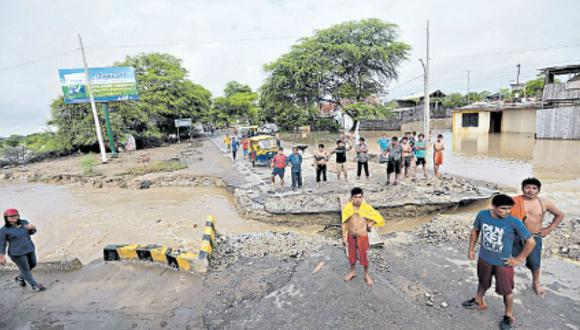 Hay un lento avance en la reconstrucción de zonas golpeadas por el fenómeno de El Niño (Lino Chipana/GEC).