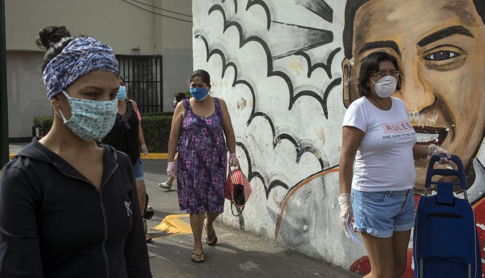 Coronavirus en Perú: Estos son los distritos de Lima con más casos de infectados con COVID-19. (AP Photo/Rodrigo Abd)