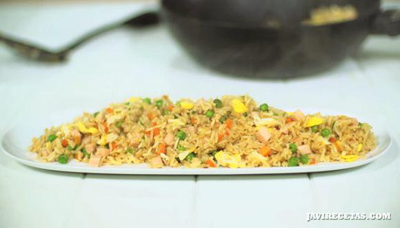Antes de mezclar todos los ingredientes, es necesario que el arroz esté completamente frío. (Foto: Las Javi Recetas)