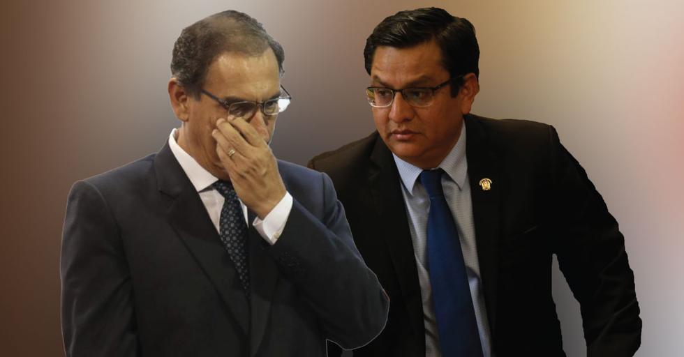 César Vásquez utilizó palabras de fuerte calibre para referirse al presidente por Tía María. (Perú21)