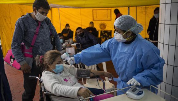 El coronavirus en el Perú sigue cobrando vidas. (AP Photo/Rodrigo Abd)