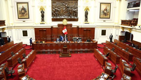 Presidente del Congreso, Manuel Merino, rechazó el mensaje a la Nación del presidente Martín Vizcarra (Congreso).