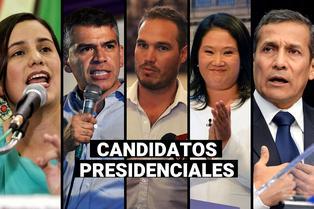 Conoce a los 23 candidatos presidenciales para las Elecciones Generales del 2021