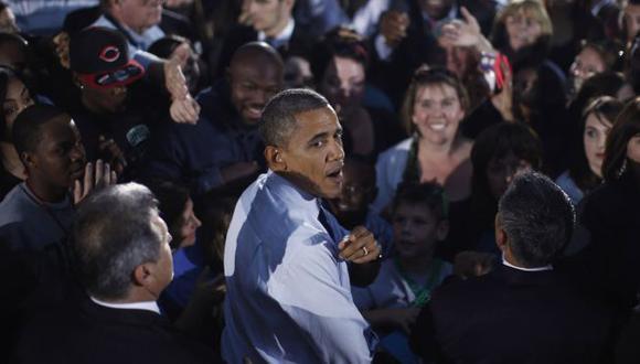 TEMPLE. El cambio de actitud de Obama fue fundamental para superar a Romney en el segundo debate. (Reuters)