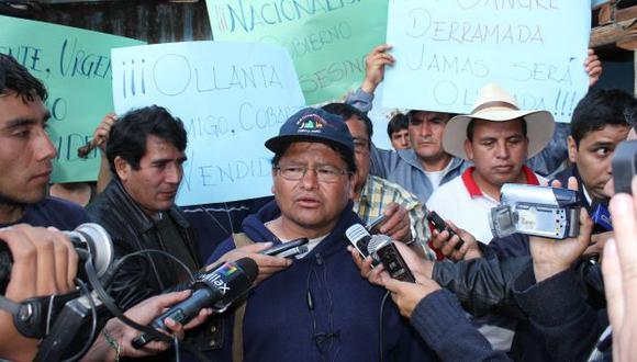 TEMERARIO. Quiere extender protesta a otros puntos del país. (Fabiola Valle)