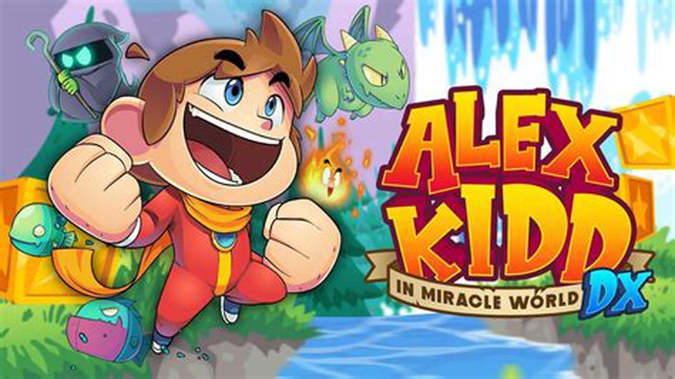 'Alex Kidd in Miracle World DX' ya se encuentra disponible en formato multiplataforma.