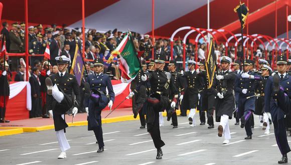 En 2020, el desfile y la parada militar tuvo que ser cancelado debido a la pandemia del coronavirus (COVID-19). Foto: Archivo/Andina