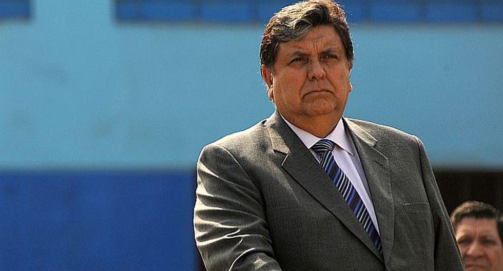 Alan García estará otra vez en la megacomisión. (USI)