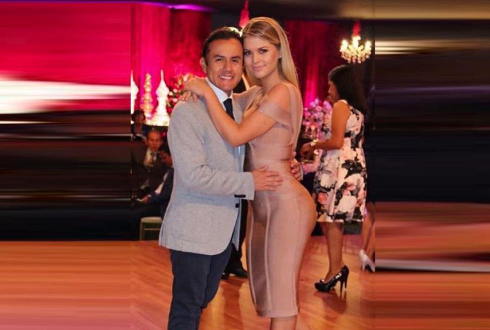 Brunella Horna gritó su amor por Richard Acuña a ocho meses de haber iniciado su romance. (Instagram/@brunehorna)