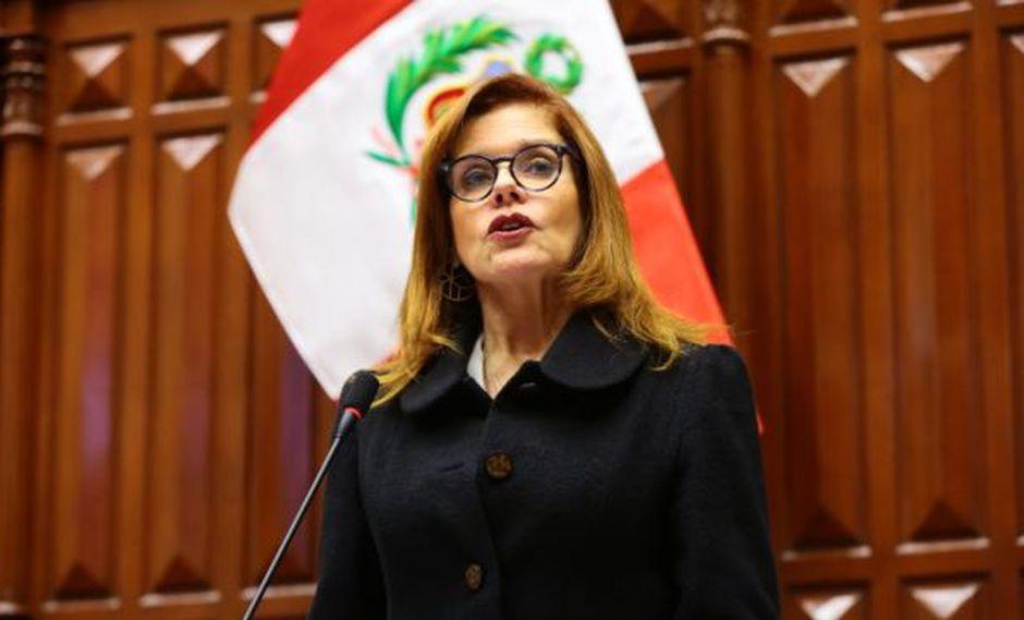 """Mercedes Araoz: """"He decidido renunciar irrevocablemente al cargo de Vicepresidenta"""". (Foto: GEC)"""