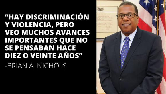 """Para el embajador, la mejor manera de caminar hacia la igualdad es """"ser visible"""". (Embajada de Estados Unidos en Perú)"""