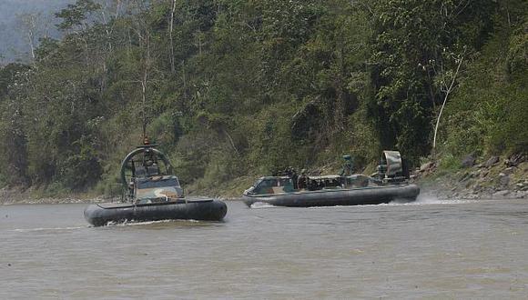 VRAEM: Un militar muerto deja enfrentamiento con narcoterroristas. (Foto Referencial)