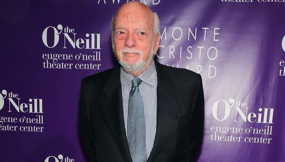 Harold Prince, director y productor de Broadway, falleció a los 91 años. (Foto: AFP)