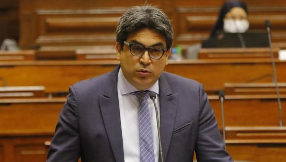 Martín Benavides responde a pliego de 33 preguntas ante el Pleno del Legislativo. (Foto: Congreso de la República)