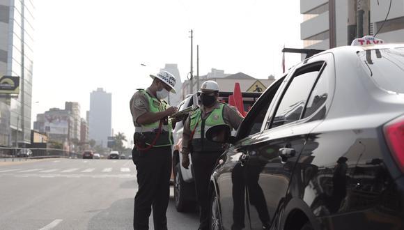 Inmovilización vehicular continuará los días domingos en Lima y Callao. (Foto: Leandro Britto / @photo.gec)