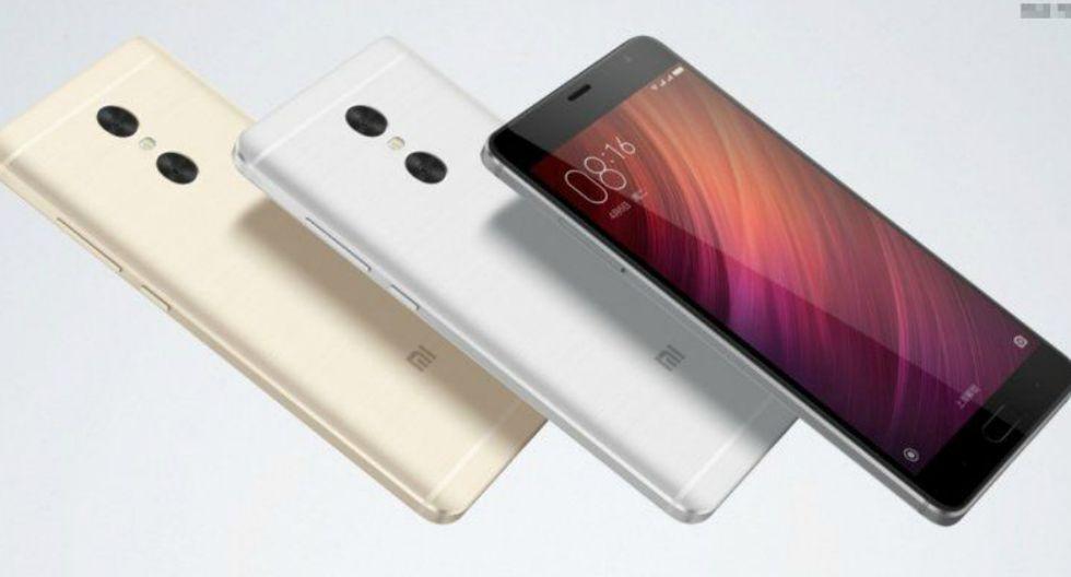 XIAOMI REDMI PRO: Tiene una capacidad de 4.050 mAh. No cuenta con carga rápida. (Xiaomi)