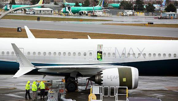 Países de Europa, Asia y América están prohibiendo los vuelos con elBoeing 737 MAX 8 debido a los accidentes con este tipo de aeronave. (Foto: AFP)