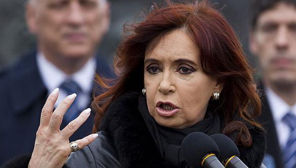 La mandataria pidió tranquilidad a todos los argentinos ante la decisión de España. (AP)