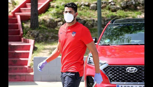 Diego Costa dejaría Atlético de Madrid para marcharse a PSG. (Foto: Atlético de Madrid)