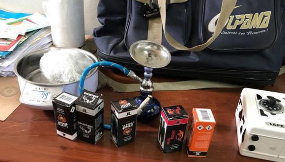 Droga en frascos era adquirida vía Internet y vendida en discotecas.