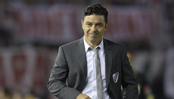 Marcelo Gallardo dirige River Plate desde el 2014 (Foto: AFP).