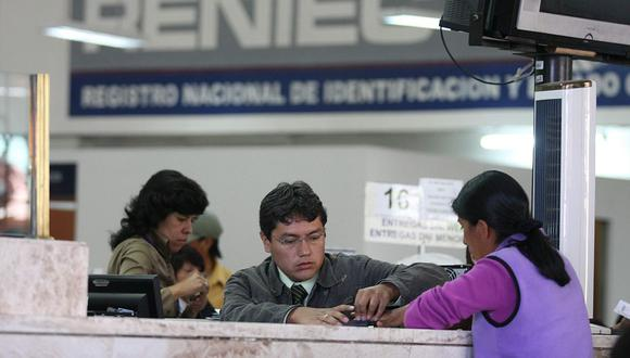 Reniec dispuso que se cierre el padrón electoral y se notifique de esto al JNE para las Elecciones Generales 2021. (Foto: GEC)