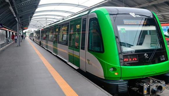 Usuarios de la Línea 1 del Metro de Lima y Callao esperarán menos tiempo la llegada de los trenes durante cuarentena. (Foto: MTC)