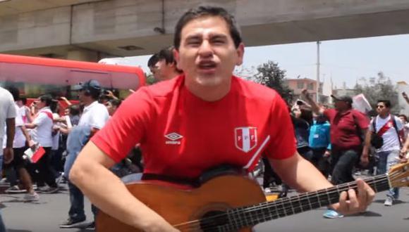 """""""Llegamos al Mundial, vamos a celebrar que nuestra Blanquirroja llegó a clasificar"""", dice la canción."""