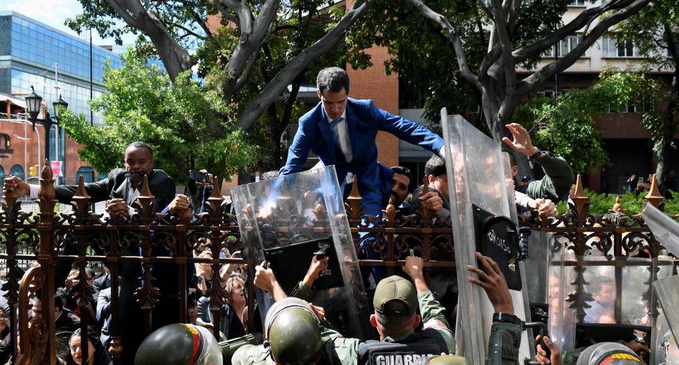 Grupo de Lima condena uso de fuerza que impidió que diputados venezolanos elijan a su nuevo presidente. (AFP)