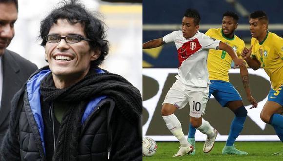 "Pedro Suárez-Vértiz tras derrota de la selección frente a Brasil: ""Se luchó hasta donde se pudo"". (Foto: Instagram PSV/FPF)"