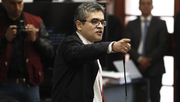 José Domingo Pérez investiga a Keiko Fujimori por lavado de activos. (GEC)