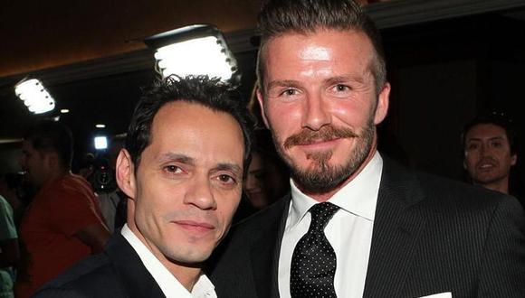 Marc Anthony y David Beckham donaron más de US$200 mil para construcción de albergue para niños con cáncer del Perú. (Foto: Instagram)