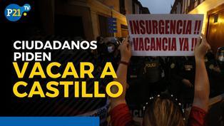 Ciudadanos piden vacar a Pedro Castillo