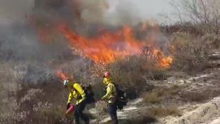 Incendio arrasa más de 4.500 hectáreas en 24 horas en el sur de California