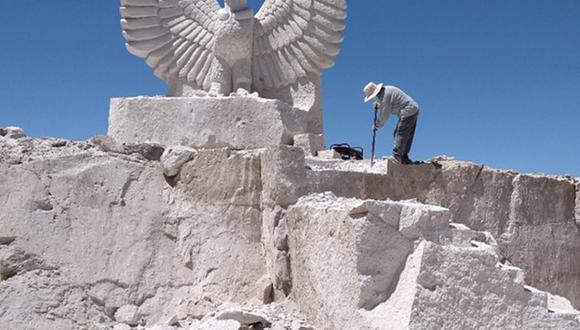 Arequipa: Conoce cómo se formó el sillar en la ciudad blanca (Foto: Ingemmet)