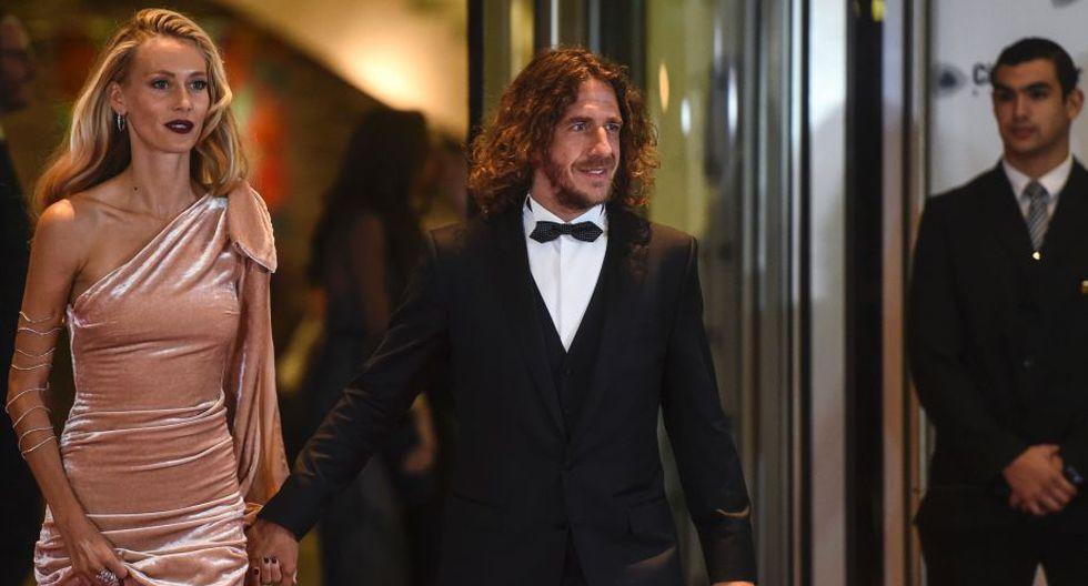 El ex capitán del Barcelona, Carles Puyol, es otro de los invitados especiales de Lionel Messi. (AFP)