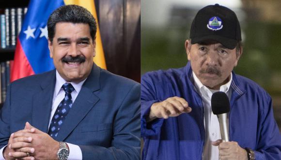 Nicaragua y Venezuela mantienen relaciones estrechas desde que el mandatario Daniel Ortega retornó a la presidencia en 2007. (Foto: AFP / EFE).