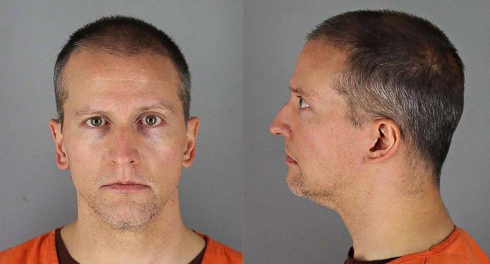 Derek Chauvin, de 44 años, fue detenido en Minneapolis (Minnesota, Estados Unidos).  (Foto: AFP / Hennepin County JailHennepin County Jail).