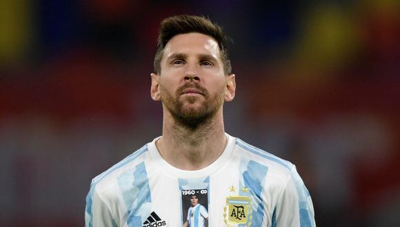 Con su tanto ante Chile, Lionel Messi superó otro récord de Gabriel Batistuta. (REUTERS/Juan Mabromata)