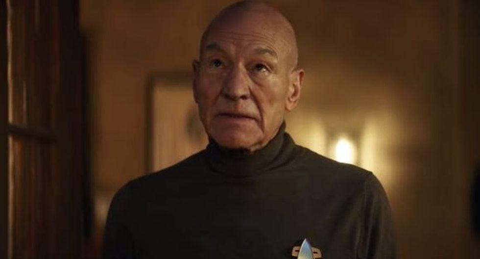 """No te pierdas el tráiler de """"Star Trek: Picard"""", serie que trae de regreso a personajes clásicos. (Imagen: Captura YouTube)"""