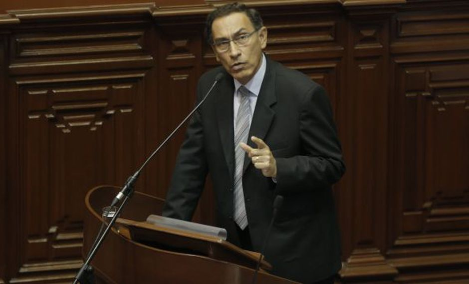 Martín Vizcarra exhortó al sector empresarial a reflexionar sobre su papel en este desgaste. (USI)